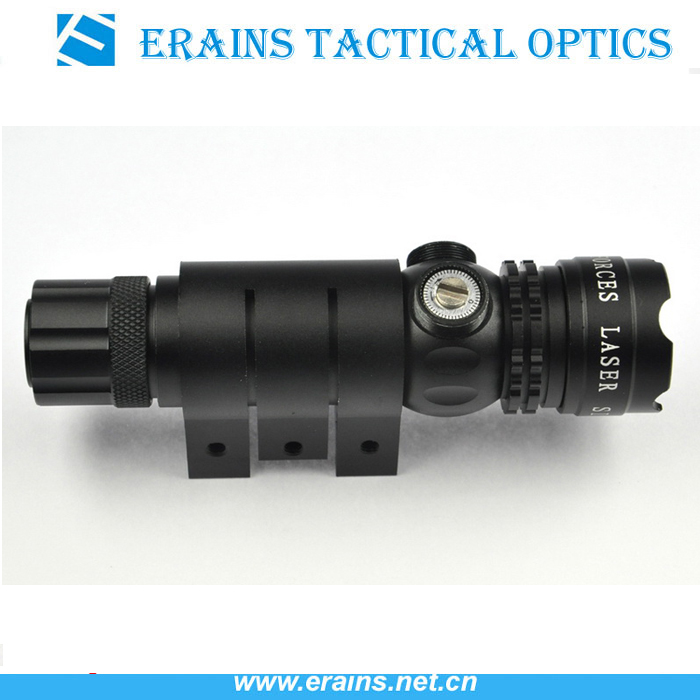 Tactical Green Laser Sight with new Push button end cap switch