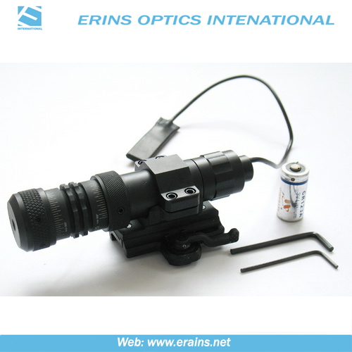 Hand-adjustable Tactical Green Laser Sight and Green Laser Scope