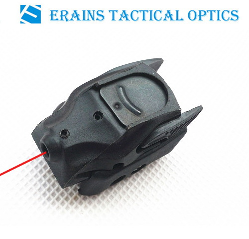 Tactical Red Dot Compact Rail Mini Red laser sight/5mw Mini Red Laser Sight/ Laser Pointer / Laser Aimer Pistol (ES-BR-LS17R)