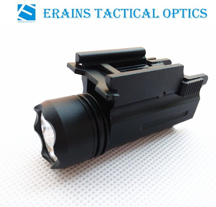 Erains TAC Optics Compact 200 Lumens Pistol LED Flashlight Tactical LED light