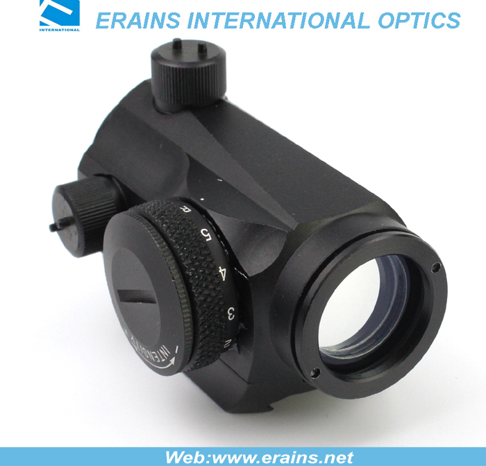 Compact red/green dot sight with standard weaver rail mount
