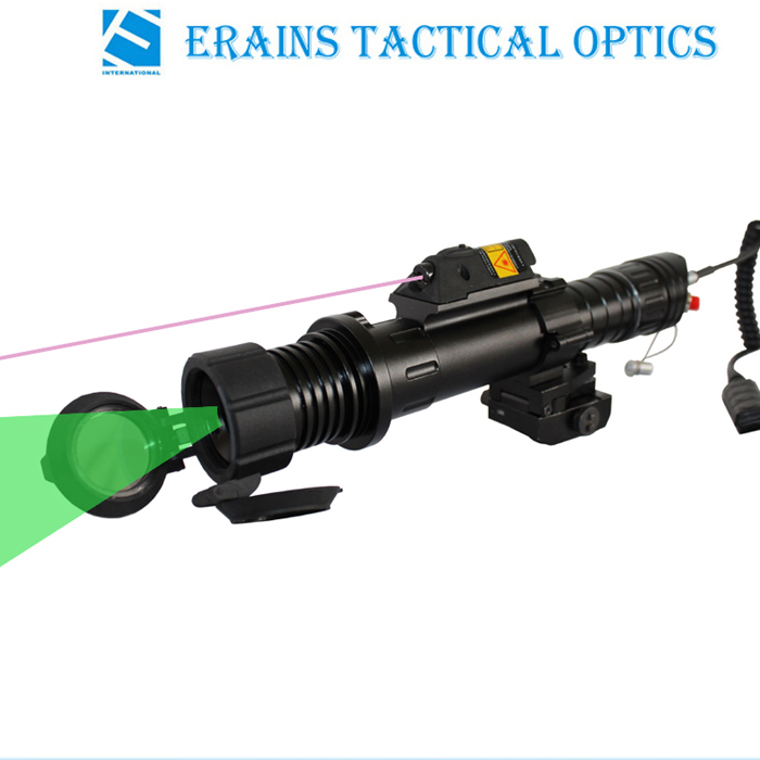 Subzero Zoomable 100mw Green Laser Designator with 5mw IR Laser Sight Combo