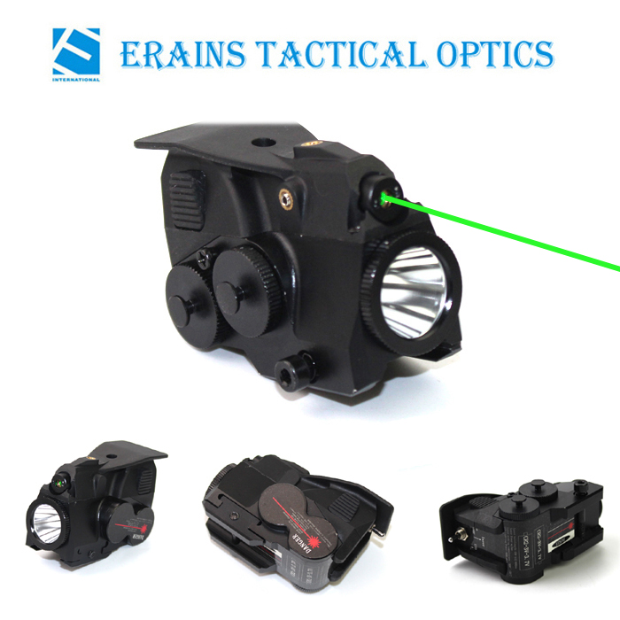 Tactical ML grade subzero working green laser sight with 600 lumens CREE T6 led laser flashlight