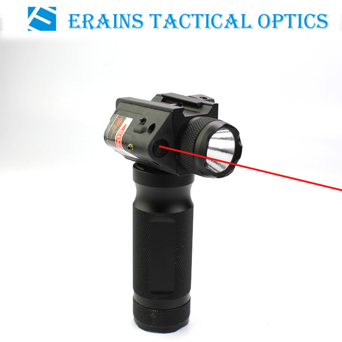 New Tactical Handgrip Red Laser Flashlight with Q5 250 Lumens LED Light