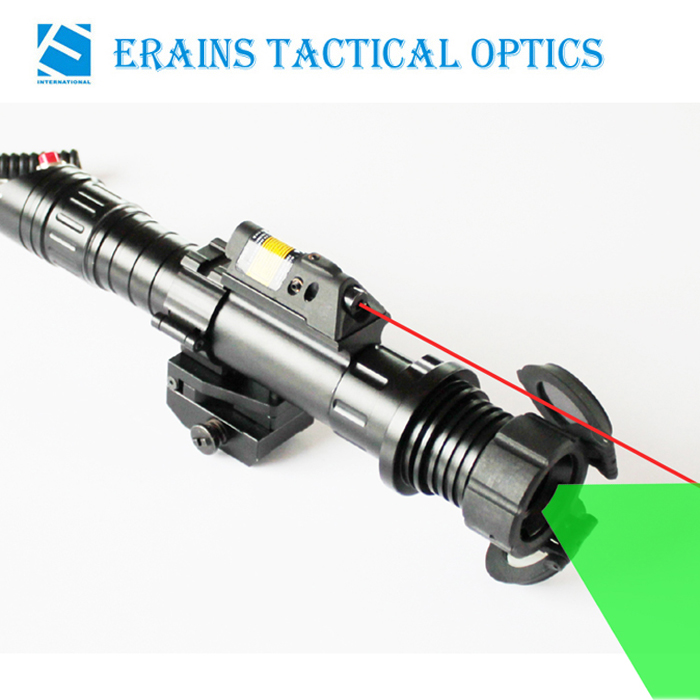 Subzero Zoomable 50mw Green Laser Designator with 5mw Red Laser Sight Combo