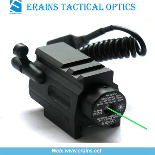 Mini Mount Integrated Tactical Pistol Green Laser Sight