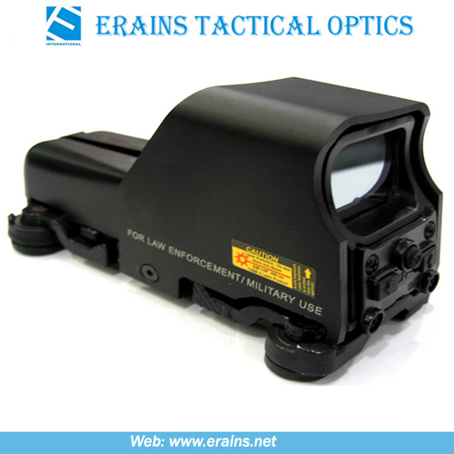 Illuminated 65 Moa Ring Tactical Mini 553 Type Red DOT & Green DOT Sight Scope (553)