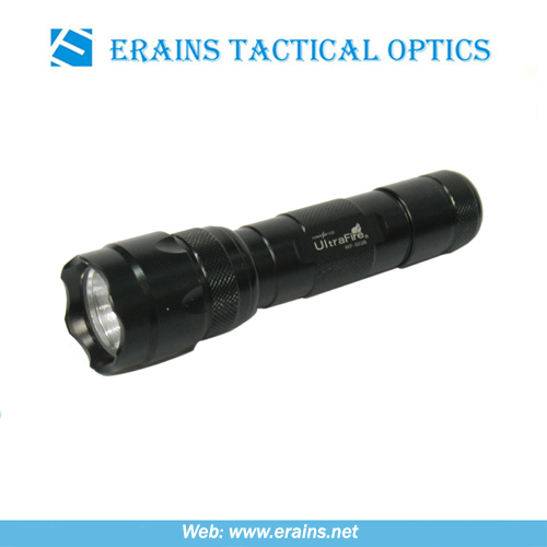 Ultra Fire WF-502B Powerful Waterproof Tactical torch and aluminium led flashlight or tactical flashlight
