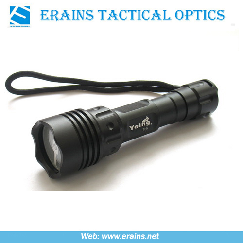 Ultrafire Powerful Tactical CREE P4 250 Lumens LED Flashlight (ES-OA-YE-05-03F)