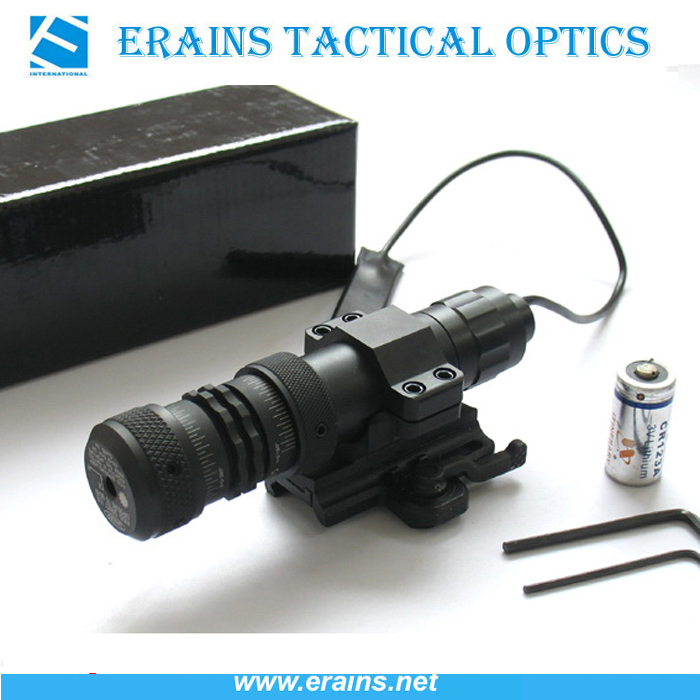 Quick Release Mount 20mw Tactical Green Laser Sight and Scope (GJ-KD-1)
