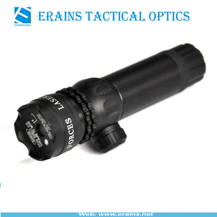 Quick target acquisition, windage elevation tool adjustable shockproof with double mounts Green Laser Sight and green laser scope
