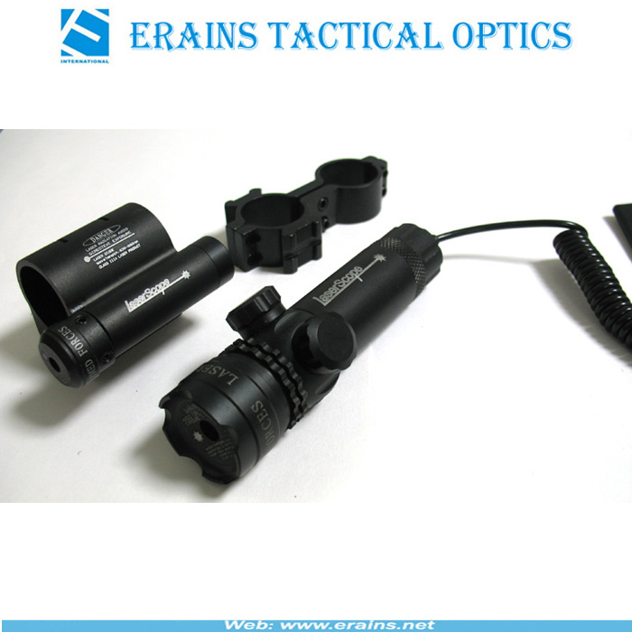 Green Laser Sight With Mounted Red Laser Scope Combo (ES-YH-209)