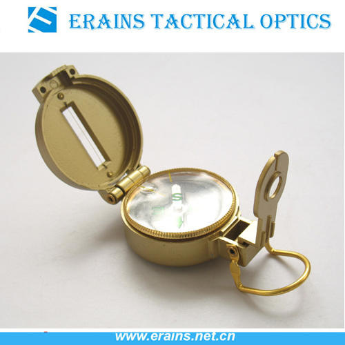 Outdoor Plastic Marching Lensatic Compass or promotion compass
