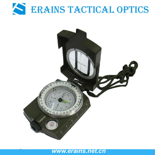Outdoor Military compass and Army compass of Metal Lensatic compass
